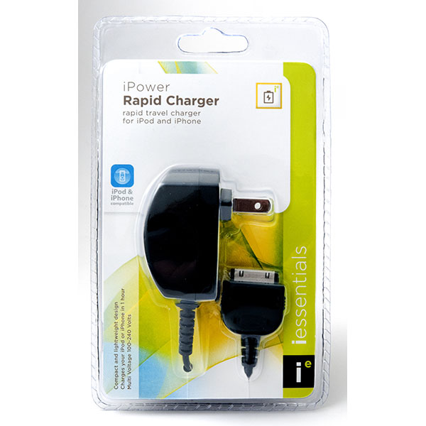 CELL PHONE HOME CHARGER IPOD/IPHONE #MP-AC-BK