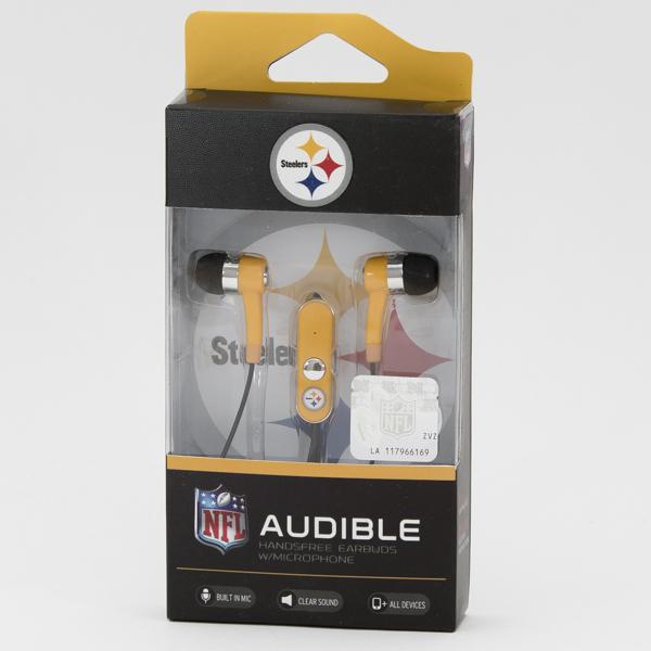 EARBUD NFL *STEELERS* #NFL-STHF-STLR