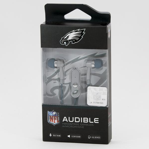 EARBUD NFL *EAGLES* #NFL-STHF-EGLS