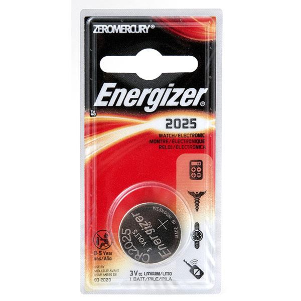 ENERGIZER WATCH BATTERY *CR2025* #ECR2025BP