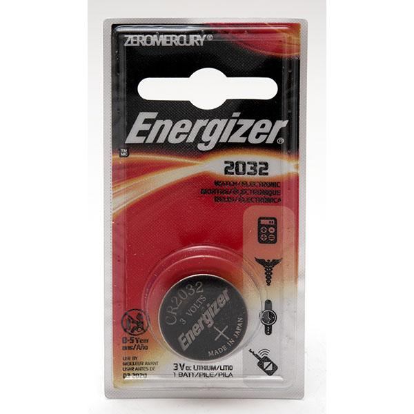 ENERGIZER WATCH BATTERY *CR2032* #ECR2032BP