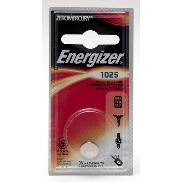 ENERGIZER WATCH BATTERY *CR1025* #ECR1025BP