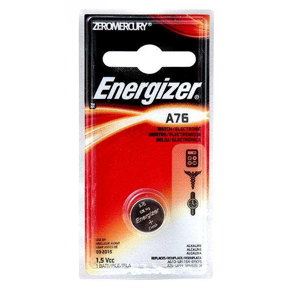 ENERGIZER WATCH BATTERY *A76/LR44* #A76BPZ