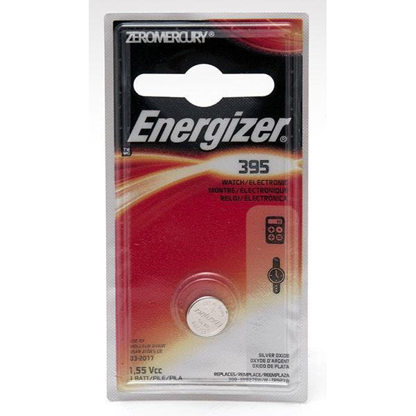 ENERGIZER WATCH BATTERY *395/SR927SW* #395BPZ