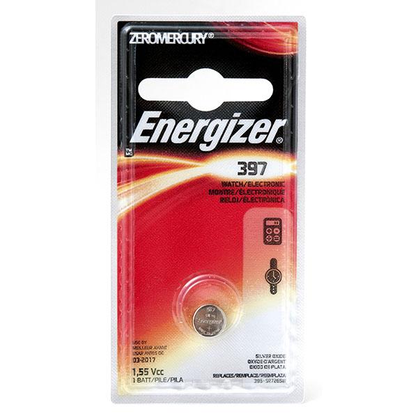 ENERGIZER WATCH BATTERY *397/SR726SW* #397BPZ