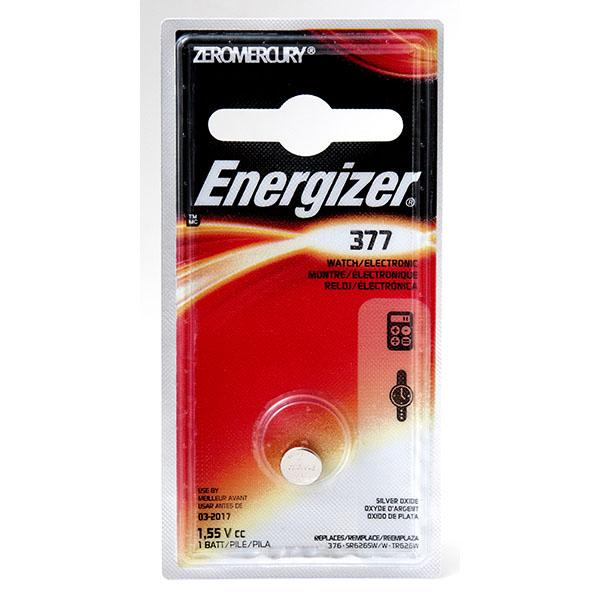 ENERGIZER WATCH BATTERY *377/SR626SW* #377BPZ