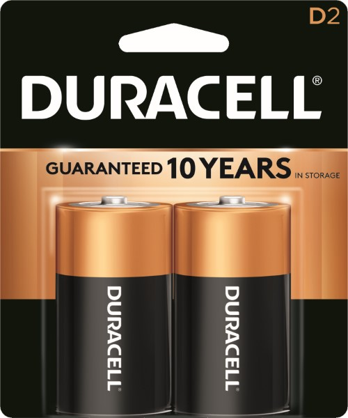 DURACELL BATTERY USA-D 2'S