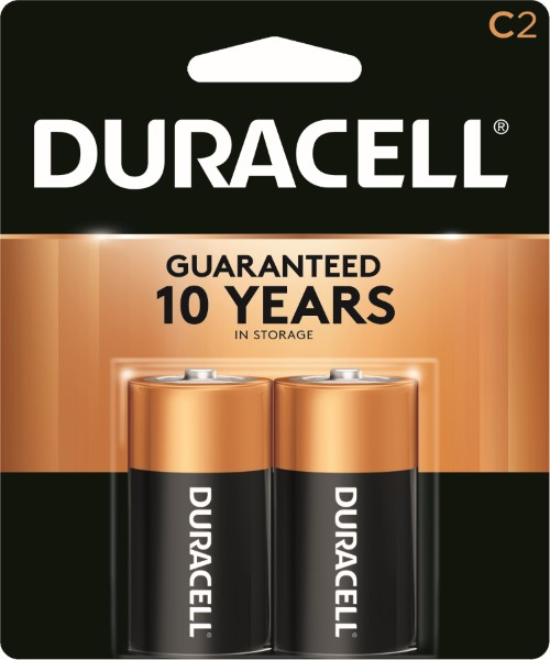 DURACELL BATTERY USA-C 2'S