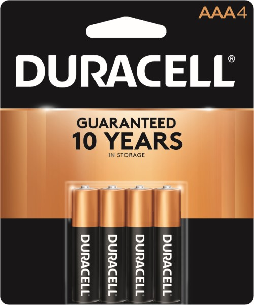 DURACELL BATTERY USA-AAA 4'S