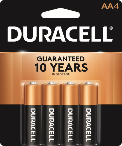 DURACELL BATTERY USA-AA 4'S