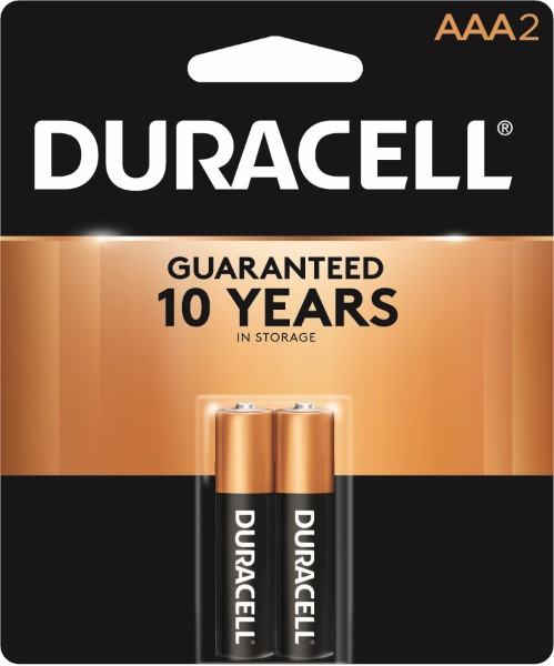 DURACELL BATTERY USA-AAA 2'S