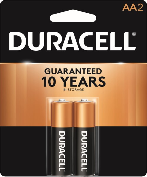 DURACELL BATTERY USA-AA 2'S