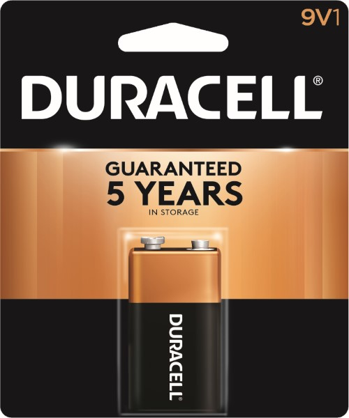 DURACELL BATTERY USA-9V 1'S