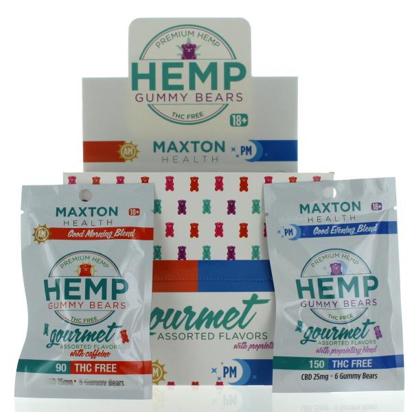 MAXTON HEMP GUMMY 16CT ASSTD. AM/PM