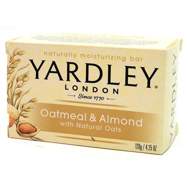 YARDLEY SOAP BAR 4.25OZ *OATMEAL & ALMOND*
