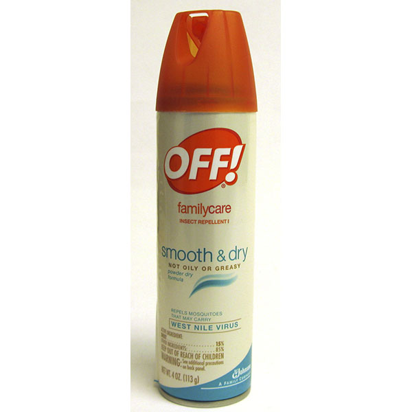 OFF! INSECT REPELLENT SPRAY 4OZ *FAMILYCARE SMOOTH & DRY*