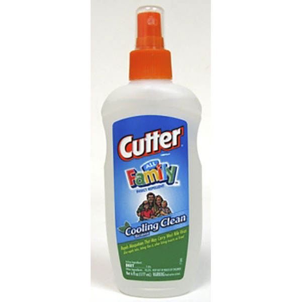 CUTTER INSECT REPELLENT PUMP 6FL.OZ *ALL FAMILY*