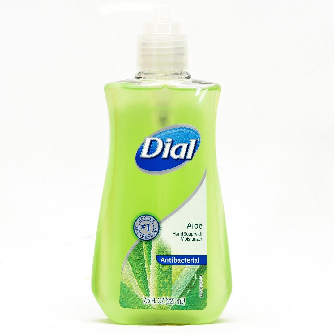 DIAL LIQ. HAND SOAP A/B 7.5FL.OZ *ALOE*