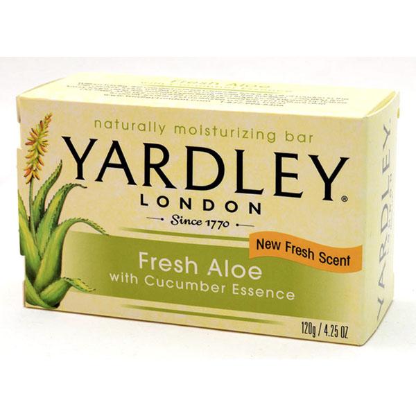 YARDLEY SOAP BAR 4.25OZ *FRESH ALOE*