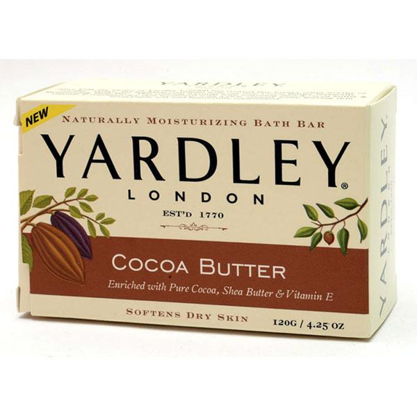 YARDLEY SOAP BAR 4.25OZ *COCOA BUTTER*