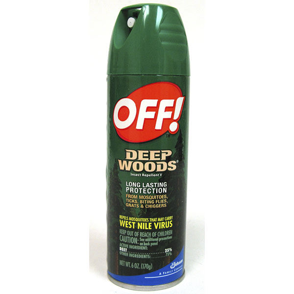 OFF! INSECT REPELLENT SPRAY 6OZ *DEEP WOODS*