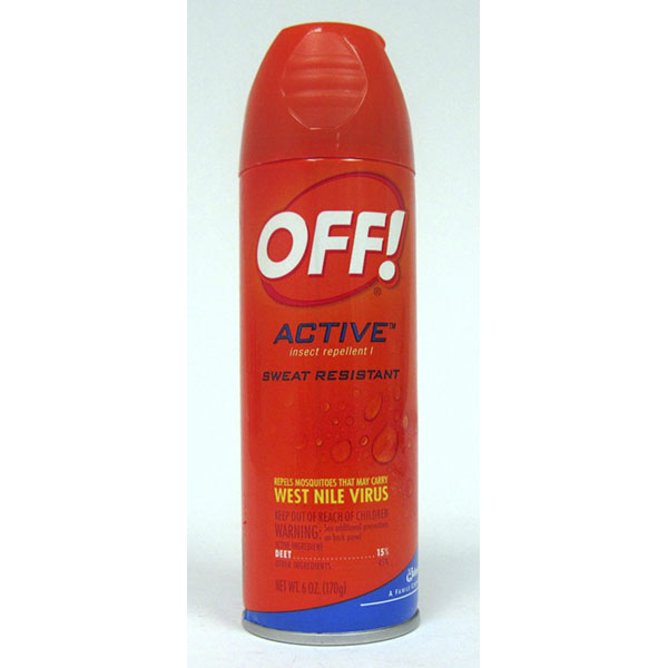 OFF! INSECT REPELLENT SPRAY 6OZ *ACTIVE*