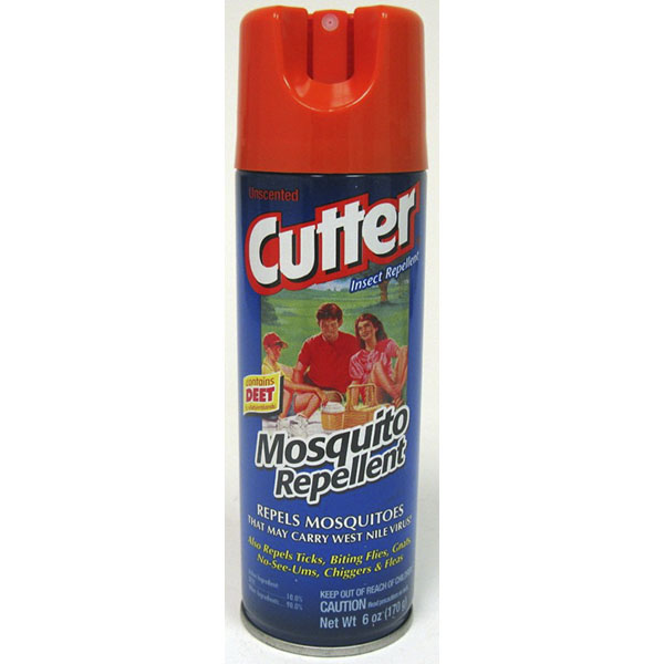 CUTTER INSECT REPELLENT SPRAY 6OZ *ALL FAMILY*