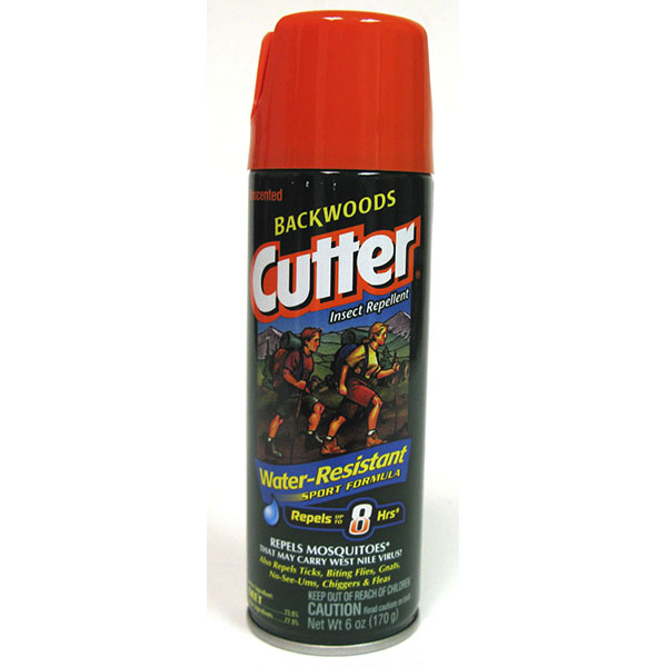 CUTTER INSECT REPELLENT SPRAY 6OZ *BACKWOODS*