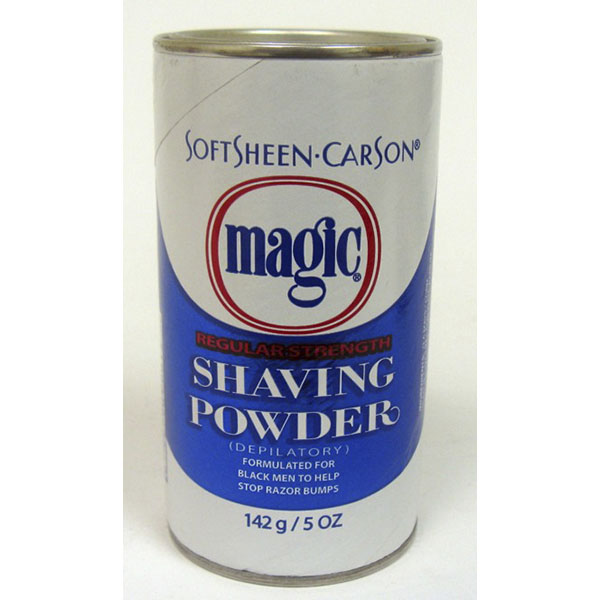 MAGIC SHAVING POWDER 5OZ REG. STRENGTH *BLUE*