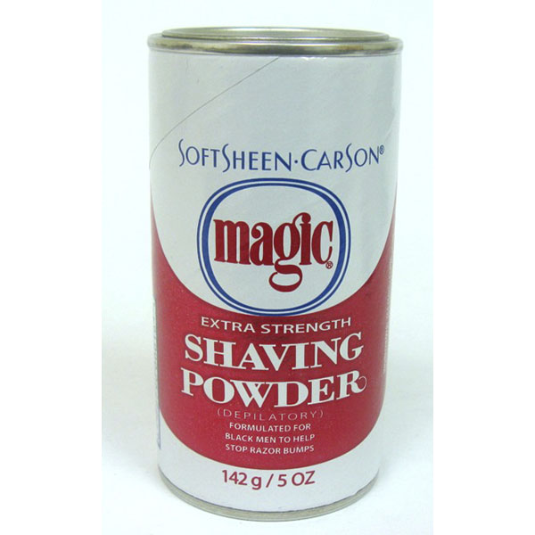 MAGIC SHAVING POWDER 5OZ EXTRA STRENGTH *RED*