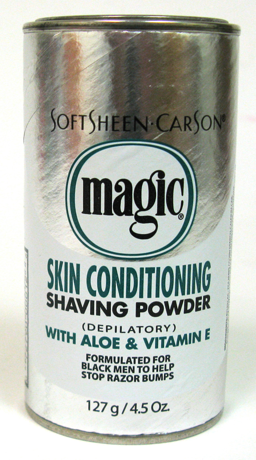 MAGIC SHAVING POWDER 4.5OZ SKIN CONDITIONING *PLATINUM*