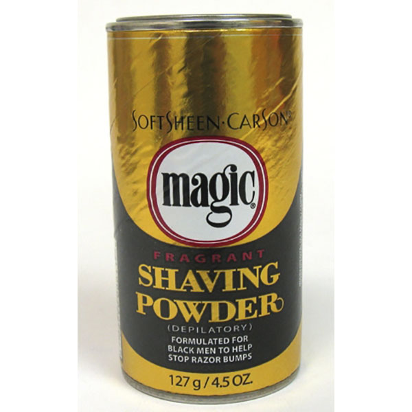 MAGIC SHAVING POWDER 4.5OZ FRAGRANT *GOLD*