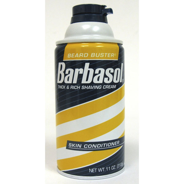 BARBASOL SHAVE CREAM 10OZ *SENSITIVE SKIN*
