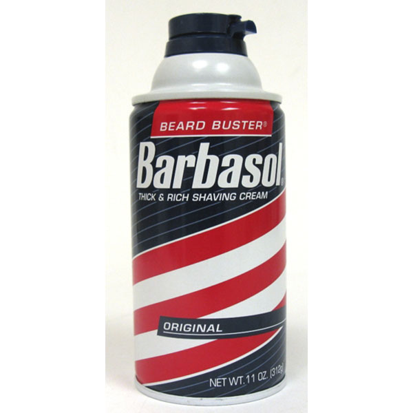 BARBASOL SHAVE CREAM 10OZ *ORIGNAL*