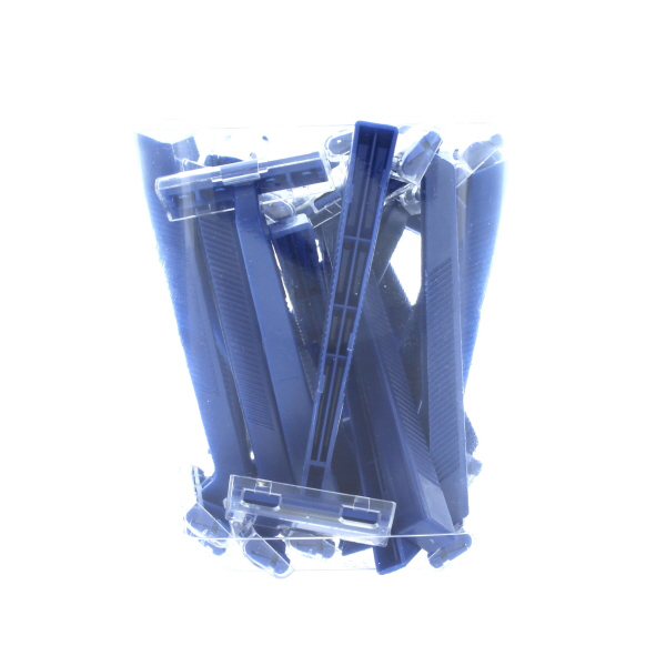 SUPER MAX RAZOR DISPOSABLE *MEN BLUE* 50CT JAR