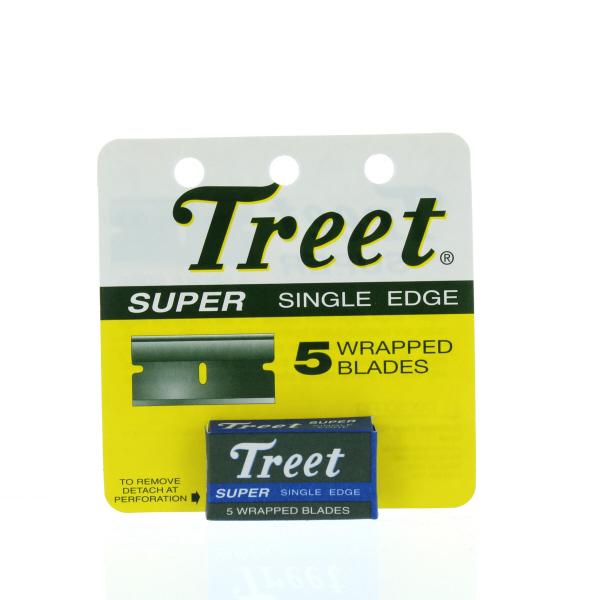TREET SINGLE EDGE BLADES 5'S