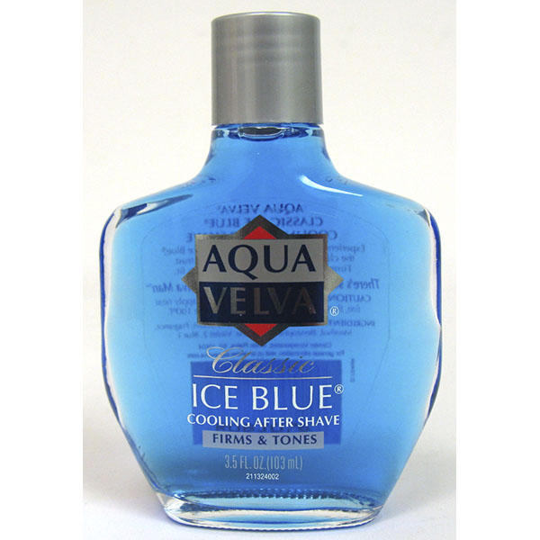 AQUA VELVA AFTER SHAVE 3.5FL.OZ *CLASSIC ICE BLUE*