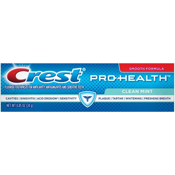 CREST TOOTHPASTE 0.85OZ *PRO-HEALTH MINT*