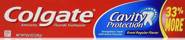 COLGATE TOOTHPASTE 8OZ *CAVITY PROTECTION*