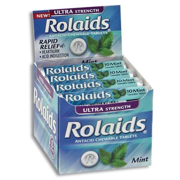 ROLAIDS ANTACID ULT.STRENGTH 10'S *MINT*