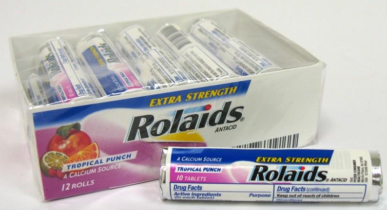 ROLAIDS ANTACID ULT.STRENGTH 10'S *FRUIT*