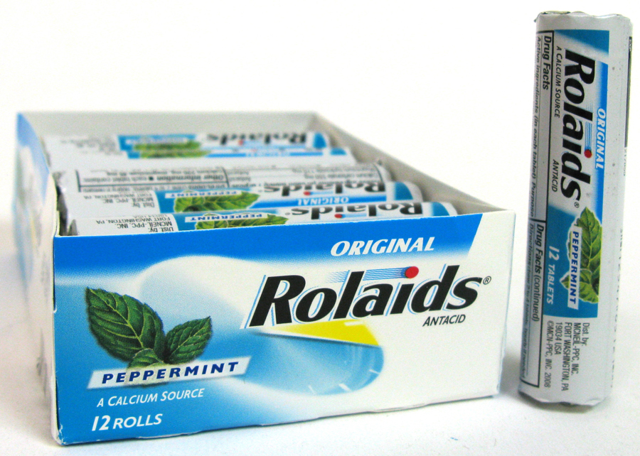 ROLAIDS ANTACID REG. 12'S *MINT*