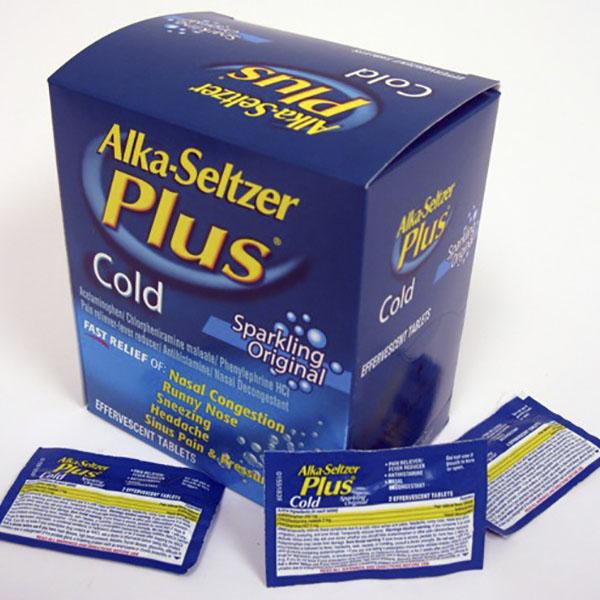 ALKA SELTZER PLUS COLD POUCH 2'S 20CT