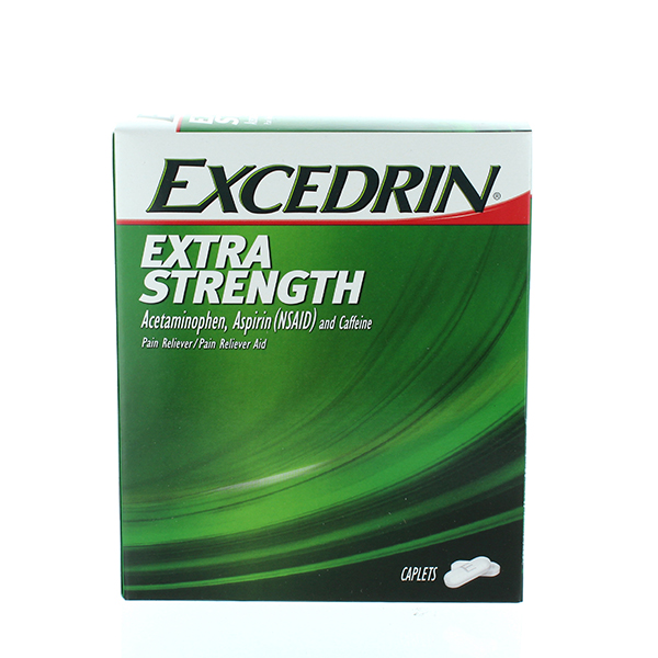 EXCEDRIN EXTRA STRENGTH POUCH 2'S 25CT