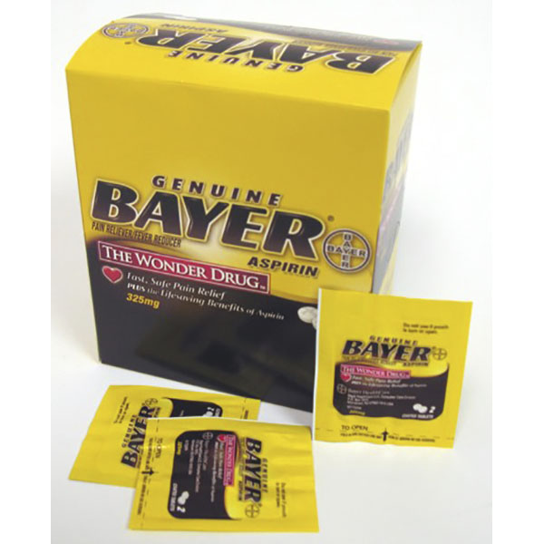 BAYER POUCH 2'S 50CT