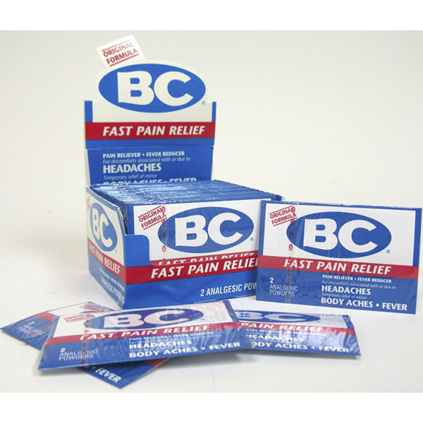 B.C POWDER FAST PAIN RELIEF 2'S 36CT