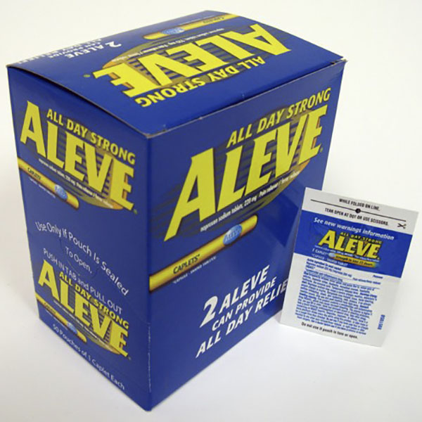 ALEVE POUCH 1'S 48CT
