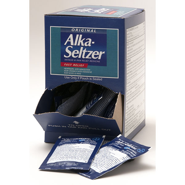 ALKA SELTZER ORIG. POUCH 2'S 25CT