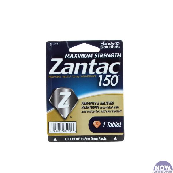 ZANTAC 150 BLISTER PK. 1'S