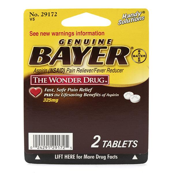 BAYER ASPIRIN TABLET BLISTER PK. 2'S